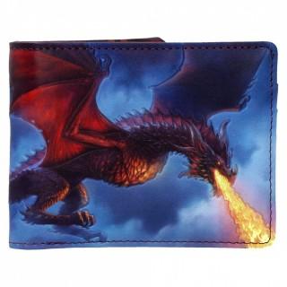 "Portefeuille à dragon crachant du feu ""Fire From The Sky"" - James Ryman"