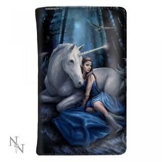 """Portefeuille à femme et licorne """"Blue Moon"""" - Anne Stokes"""