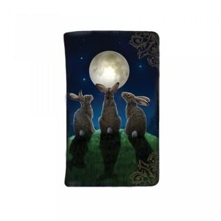 """Portefeuille à lapins et pleine lune """"Moon Shadows"""" - Lisa Parker"""