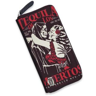 "Portefeuille ""TEQUILA DE LOS MUERTOS"" - Liquor Brand"