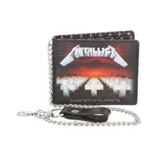 Portefeuilles à chaine Metallica - Master of Puppets (licence officielle)