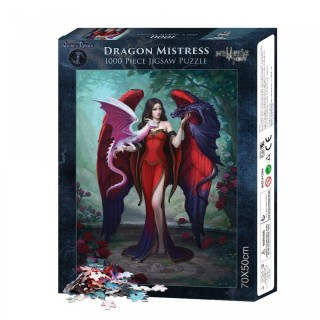 "Puzzle 1000pcs à maitresse des dragons ""Dragon Mistress"" - James Ryman"