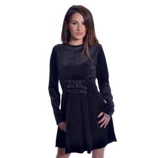 Robe noir gothique Gothic Wednesday Dress - Heartless