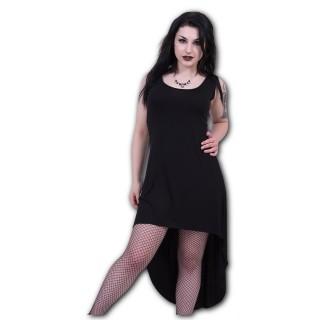 "Robe noire collection ""GOTHIC ELEGANCE"" - SPIRAL"