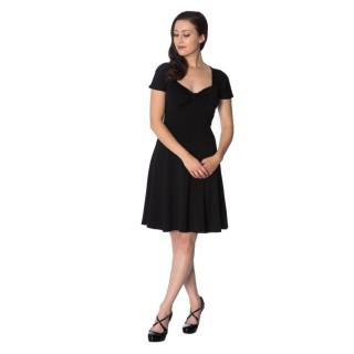 "Robe noire modèle ""IT'S THE TWIST DRESS"" - Banned"