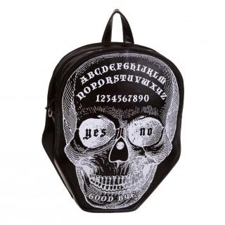 Sac à dos Banned en forme de tête de mort style Ouija