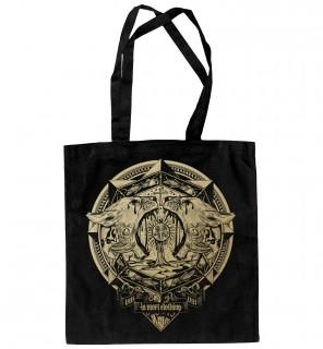 Sac de shopping gothique à imprimé doré Locusts (EG/B) - LA Mort Clothing