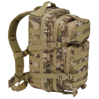 Sac à dos camouflage vert claire style militaire US Cooper Médium - Brandit