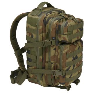 Sac à dos camouflage vert style militaire US Cooper Médium  - Brandit