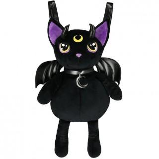 Sac à dos chat démoniaque à collier lune - Restyle