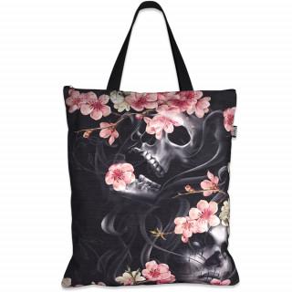 Sac shopping à crane et fleurs de cerisier - Liquor Brand