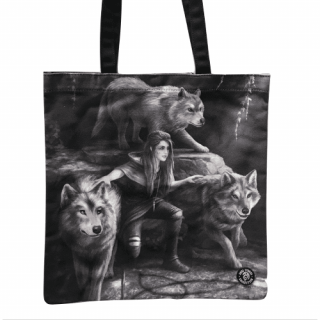 Sac shopping à femme aux loups - Anne Stokes