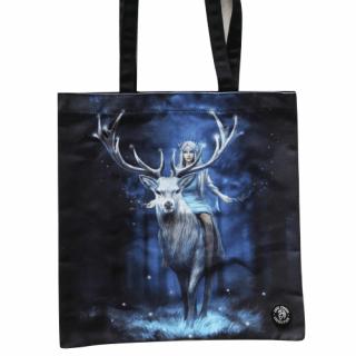 """Sac shopping à femme sur un cerf """"Fantasy Forest"""" - Anne Stokes"""