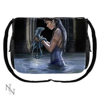 Sacoche bandoulière à prêtresse et dragon d'eau - Anne Stokes