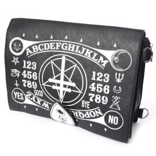 Sacoche bandoulière à symboles occultes - Poizen Industries