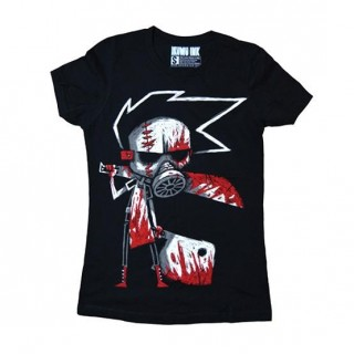 "T-shirt femme à boucher sanguinaire ""Butcher III: The Reckoning"" - Akumu Ink"