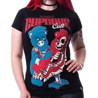 T-shirt femme CLUB T - Cupcake Cult