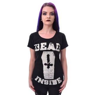 T-shirt femme DEAD INSIDE - Heartless