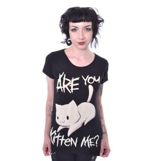 T-shirt femme KITTEN ME - Cupcake Cult