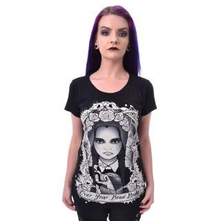 T-shirt femme OVER YOUR DEAD - Heartless