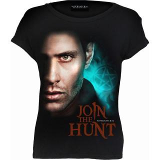 T-shirt femme SUPERNATURAL - JOIN THE HUNT (licence officielle)