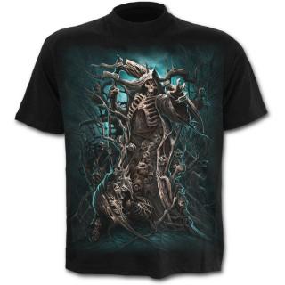 """T-shirt gothique homme noir """"Foret de la mort"""""""