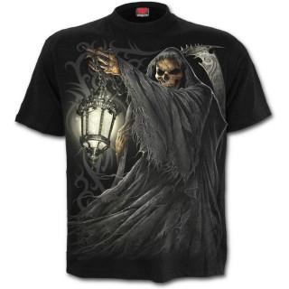 T-shirt homme avec La Mort tenant une lanterne