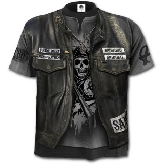 "T-shirt homme biker ""JAX WRAP"" - Sons of Anarchy"