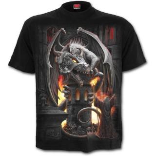 """T-shirt homme à dragon """"Capture de la forteresse"""""""