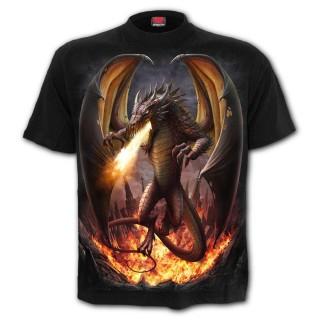 T-Shirt homme à dragon libéré de sa prison
