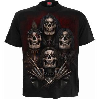 T-shirt homme Faces of Goth à revenants style groupe gothique