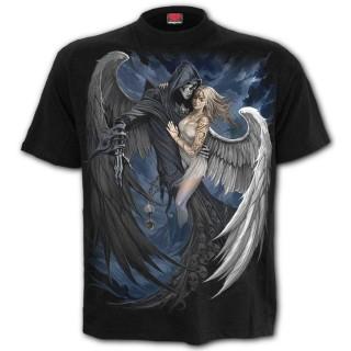 """T-shirt homme """"FALLEN"""" à ange et démon"""