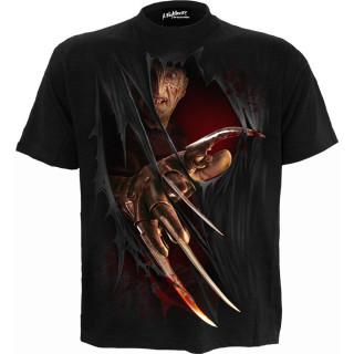 """T-shirt homme FREDDY """"Les griffes de la nuit"""" (licence officielle)"""