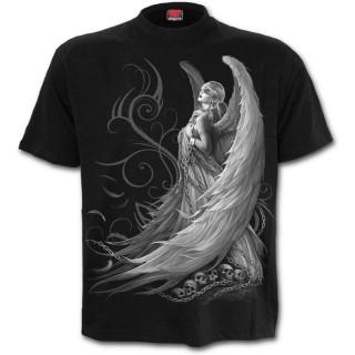 T-shirt homme gothique à ange captif