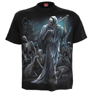 T-shirt homme gothique Danse de la Mort