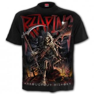 T-shirt homme gothique Le Tour du Monde de la Mort