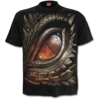 """T-shirt homme gothique """"L'oeil du dragon"""""""