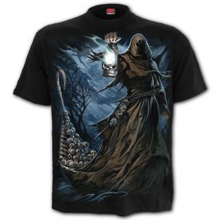 T-shirt homme gothique à passeur des enfers sur le Styx