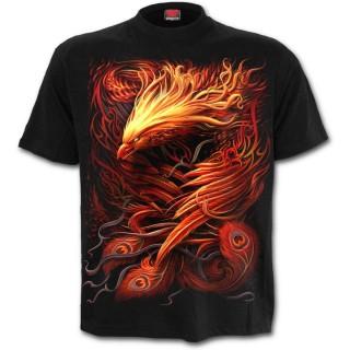 """T-shirt homme gothique """"Résurrection du phenix"""""""