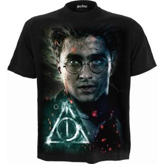T-shirt homme Harry Potter et les Reliques de la Mort (Licence Officielle)