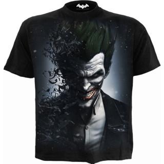 T-shirt homme JOKER - ARKHAM ORIGINS (licence officielle)