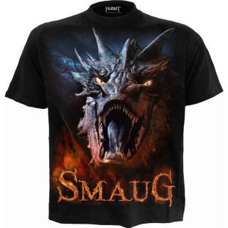 T-shirt homme LE HOBBIT - dragon SMAUG (licence officielle)