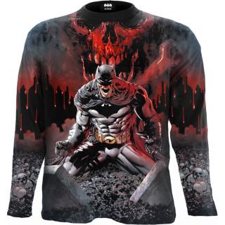 T-shirt homme manches longues BATMAN - ASYLUM (licence officielle)