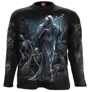T-shirt homme manches longues Danse de la Mort