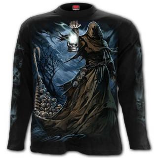 T-shirt homme manches longues à passeur des enfers sur le Styx