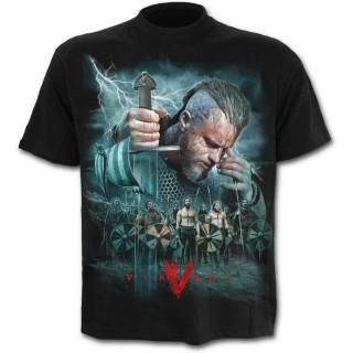 T-shirt homme série VIKINGS - modèle BATTLE