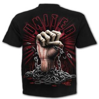 """T-shirt homme """"UNIS - NOUS SAIGNONS ENSEMBLE"""""""