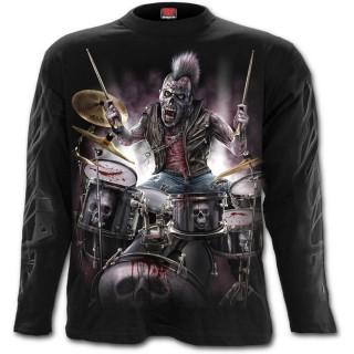"""T-shirt homme """"ZOMBIE BACKBEAT"""" à manches longues"""