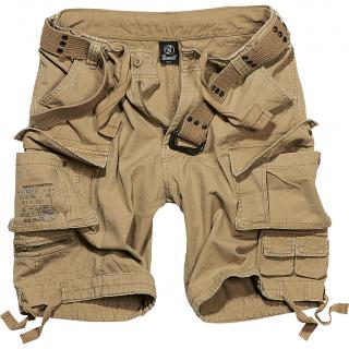 """Short homme style militaire """"Savage"""" - Beige - Brandit"""