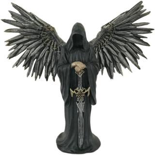 Grande figurine ange de la mort avec sa lame (32 cm)